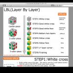 ルービックキューブ6面完成指南書のウェブ公開(英語版、中国語版、日本語版)