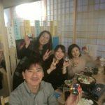 すき焼き鍋!(第48回北京くるくる会 in 青竹屋)